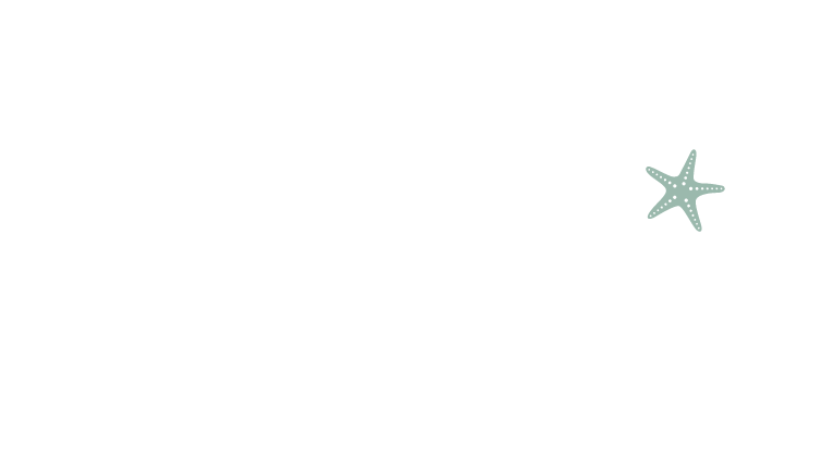 Stellas Bistro Primary Logo White Green Star